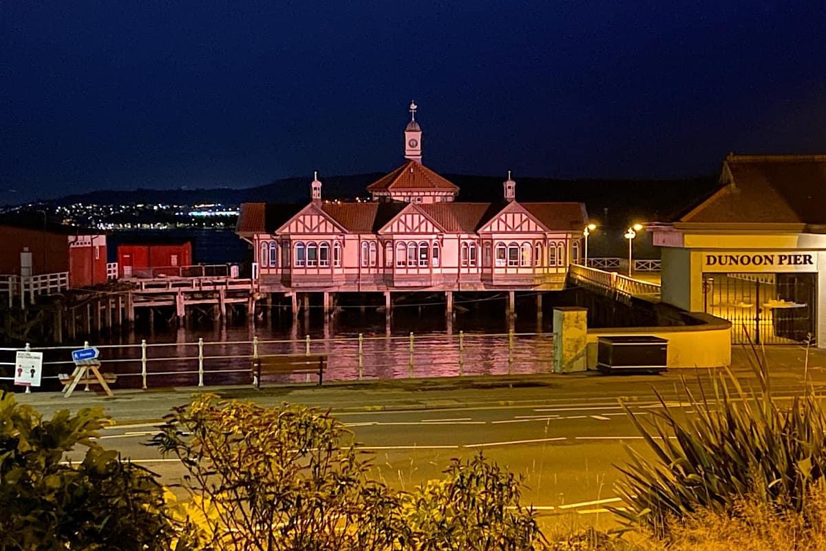 Dunoon Old Pier at Night